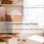 Buying a property - what to do when you receive your client care pack