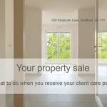 Selling a property - what to do when you receive your client care pack