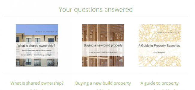 Understanding your property sale or purchase
