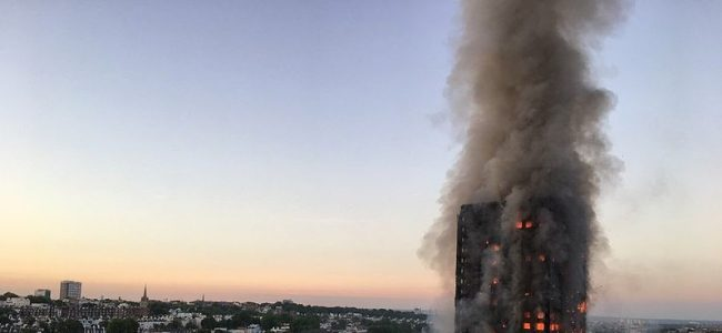 Fire safety - Grenfell Tower