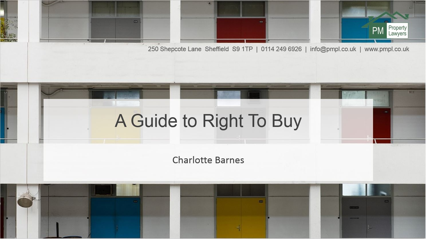A Guide to 'right to buy'
