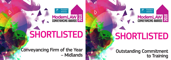 PM Property Lawyers shortlisted for two awards