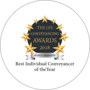 LFS 2018 Individual Conveyancer Highly Commended