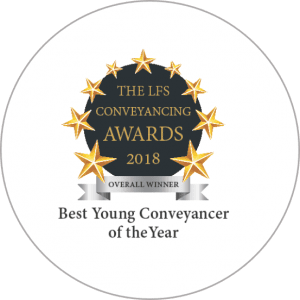 LFS Awards 2018 Best Young Conveyancer Overall